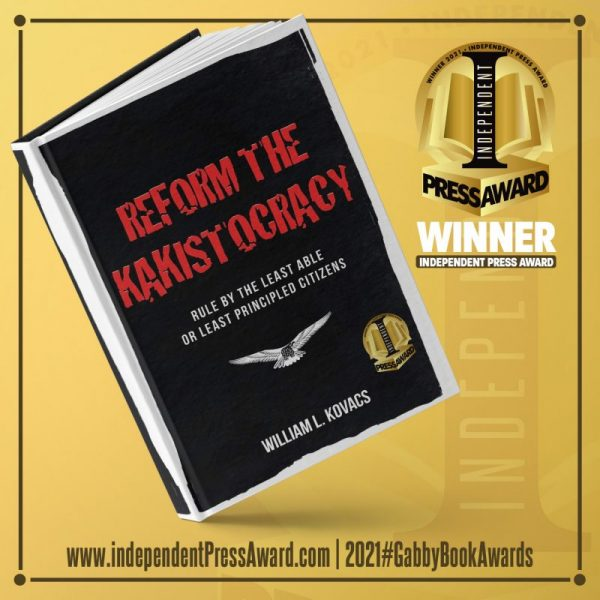Independent Press Award to Reform the Kakistocracy